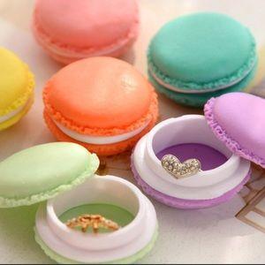 Jewelry - ❗️PRICE DROP❗️HP🎉 MACARON Pill & Jewelry Cases